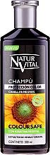 Voňavky, Parfémy, kozmetika Šampón na zachovanie farby farbených vlasov - Natur Vital Coloursafe Henna Colour Shampoo Black Hair