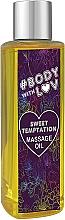"Voňavky, Parfémy, kozmetika Masážny olej ""Sladké pokušenie"" - New Anna Cosmetics Body With Luv Massage Oil Sweet Temptation"
