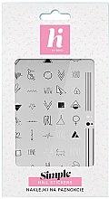 Voňavky, Parfémy, kozmetika Nálepky na nehty - Hi Hybrid Simple Nail Stickers