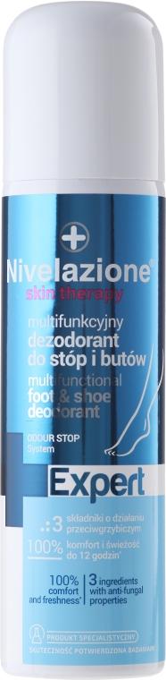 Multifunkčný deodorant pre nohy a topánky - Farmona Nivelazione Skin Therapy Expert — Obrázky N1