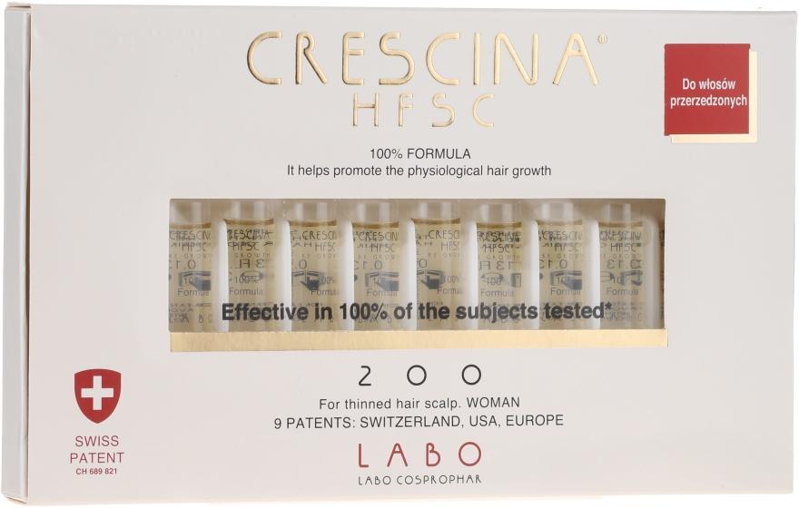 Lotionový koncentrát na obnovenie rastu vlasov u žien - Labo Crescina HFSC Re-Growth 200