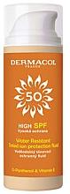 Voňavky, Parfémy, kozmetika Vodotesný tónovací fluid s ochranou pred slnkom - Dermacol Sun Tinted Water Resistant Fluid SPF50