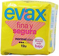 """Voňavky, Parfémy, kozmetika Hygienické vložky """"Normal"""" s krídlami, 12ks - Evax Fina & Segura"""