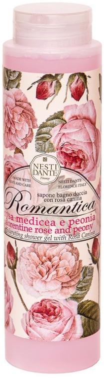 """Sprchový gél """"Ruža a pivónia"""" - Nesti Dante Romantica Shower Gel"""