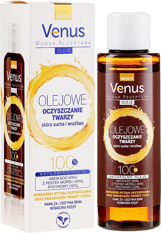 Čistiaci olej pre suchú a citlivú pokožku tváre - Venus Cleansing Oil