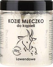 """Voňavky, Parfémy, kozmetika Kozie mlieko do kúpeľa """"Levanduľa"""" - E-Fiore Lavender Bath Milk"""