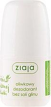 Voňavky, Parfémy, kozmetika Dezodorant - Ziaja Olive Leaf Roll On Anti-perspirant Without Aluminium Salt