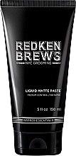 Voňavky, Parfémy, kozmetika Pasta pre modelovanie vlasov - Redken Brews Liquid Matte Paste