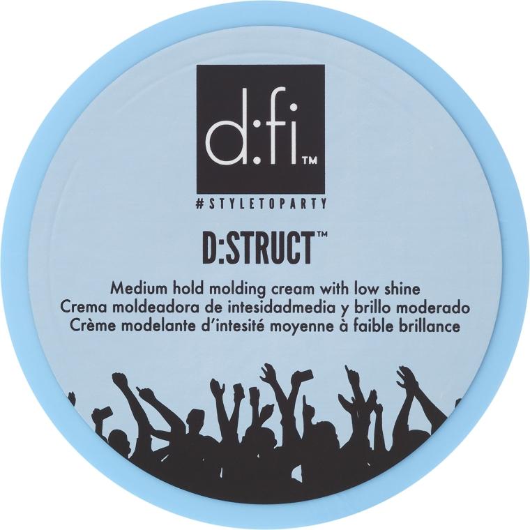 Styling-krém na vlasy - D:fi D:struct Medium Hold Molding Cream