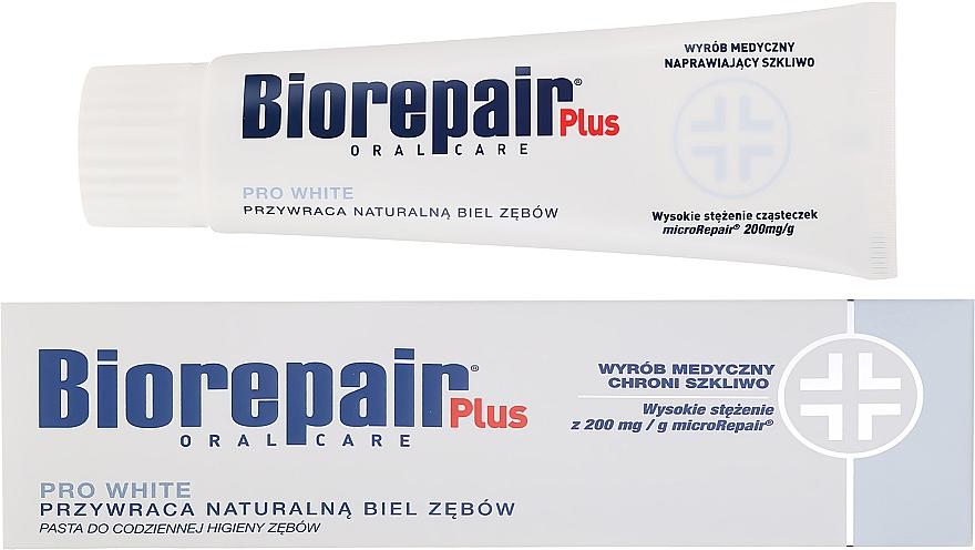 Bieliaca zubná pasta - BioRepair Plus PRO White