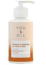 """Voňavky, Parfémy, kozmetika Čistiaci prostriedok na tvár """"Výživa a starostlivosť"""" - You & Oil Nourish & Nurture Face Wash"""