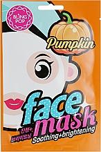 Voňavky, Parfémy, kozmetika Maska na tvár s tekvicovym extraktom - Bling Pop Pumpkin Smoothing & Brightening Mask