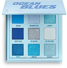 Voňavky, Parfémy, kozmetika Paleta očných tieňov - Makeup Obsession Ocean Blues Eyeshadow Palette