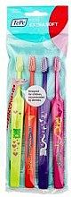 Voňavky, Parfémy, kozmetika Súprava zubných kefiek - TePe Kids X-Soft
