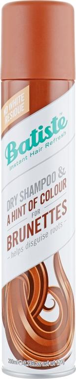 Suchý šampón - Batiste Dry Shampoo Medium and Brunette a Hint of Colour