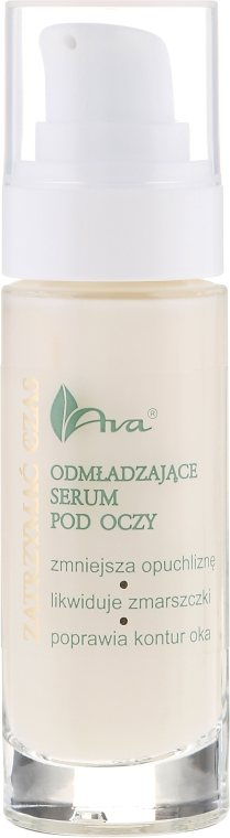 Očné sérum - Ava Laboratorium Stop Time Eye Contour Serum — Obrázky N2