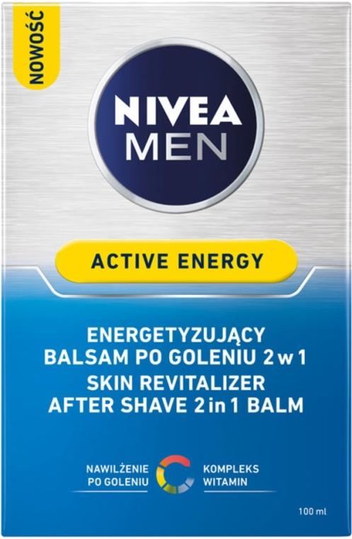 "Balzam po holení dvojitá akcia ""Energetický poplatok"" - Nivea For Men Active Energy Skin Revitalizer After Shave Balm — Obrázky N3"