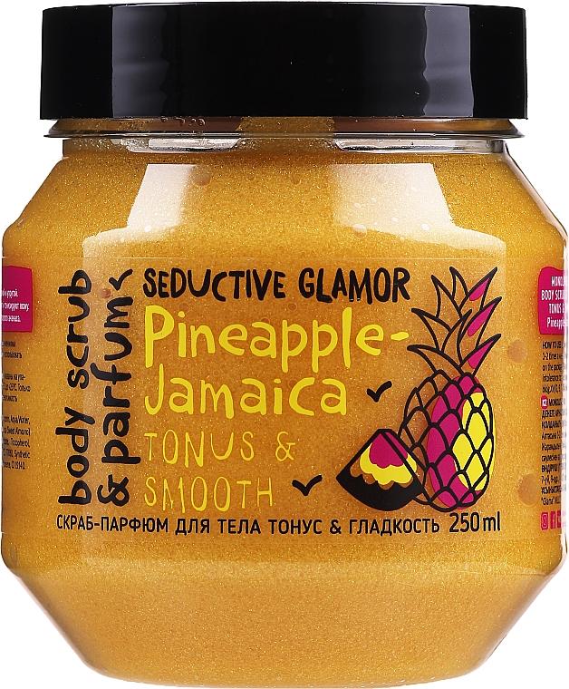 """Scrub na telo """"Tonus a hladkosť"""" - MonoLove Bio Pineapple-Jamaica Tonus & Smoothness Scrub"""