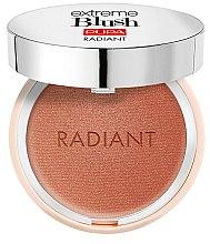 Voňavky, Parfémy, kozmetika Lícenka s efektom žiarenia - Pupa Extreme Blush Radiant