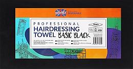 Voňavky, Parfémy, kozmetika Jednorazové uteráky, 50 ks, čierne - Ronney Professional Hairdressing Towel Basic Black