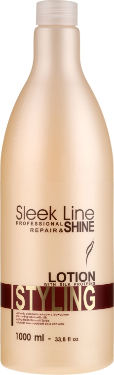 Lotion-hodváb pre úpravu vlasov - Stapiz Sleek Line Styling Lotion — Obrázky N1