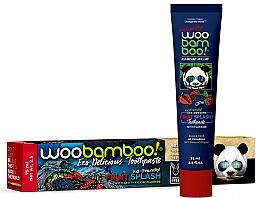 "Voňavky, Parfémy, kozmetika Zubná pasta ""Ovocný boom"" s fluoridom - Woobamboo Fruit Splash Toothpaste With Fluoride"