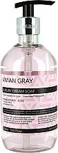 Voňavky, Parfémy, kozmetika Mydlo na ruky - Vivian Gray Luxury Cream Soap Pomegranate & Rose