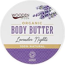 "Voňavky, Parfémy, kozmetika Maslo na telo ""Levanduľová noc"" - Wooden Spoon Lavander Nights Body Butter"