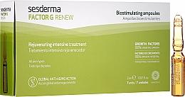 Voňavky, Parfémy, kozmetika Ampulky na tvár - SesDerma Laboratories Factor G Renew Biostimulating Ampoules