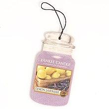 """Voňavky, Parfémy, kozmetika Arómatizator """"Citrón s levanduľou"""" - Yankee Candle Fluffy Lemon Lavender 2D Jar Classic"""
