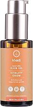 Voňavky, Parfémy, kozmetika Obnovujúci olej na vlasy - Khadi Ayurvedic Vitality Grow Hair Oil