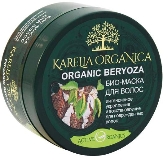 """Biomaska na vlasy """"Organic Birch"""" intenzívne posilňovanie a obnovovanie - Fratti NV Karelia Organica — Obrázky N1"""