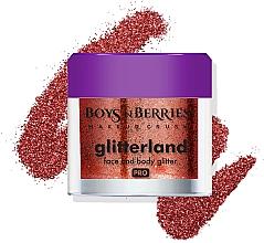Voňavky, Parfémy, kozmetika Trblietky na tvár a telo - Boys'n Berries Glitterland Face and Body Glitter