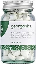"""Voňavky, Parfémy, kozmetika Tablety na čistenie zubov """"Čajovník"""" - Georganics Natural Toothtablets Tea Tree"""