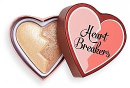 Voňavky, Parfémy, kozmetika Rozjasňovač - I Heart Revolution Heart Breakers Powder Highlighter