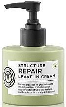 Voňavky, Parfémy, kozmetika Krém na vlasy - Maria Nila Structure Repair Leave In Cream