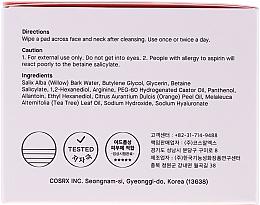 Čistiace tampóny s BHA kyselinami - Cosrx One Step Original Clear Pads — Obrázky N2