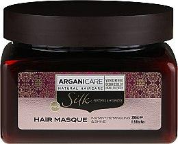 Voňavky, Parfémy, kozmetika Maska na vlasy s hodvábnym proteínom - Arganicare Silk Hair Masque
