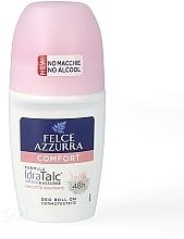 Voňavky, Parfémy, kozmetika Guľôčkový dezodorant - Felce Azzurra Deo Roll-on IdraTalc Comfort