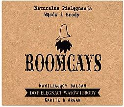 Voňavky, Parfémy, kozmetika Balzam na fúzy a bradku s bambuckým maslom - Roomcays