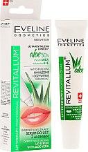 Voňavky, Parfémy, kozmetika Hydratačné sérum na pery - Eveline Cosmetics Lip Therapy Professional Revitallum Aloe Moisturising Lip Serum