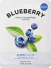 Voňavky, Parfémy, kozmetika Textilná maska na tvár - It's Skin The Fresh Blueberry Mask Sheet