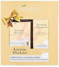 Voňavky, Parfémy, kozmetika Sada - Bielenda Kuracja Mlodosci Cream 70+ (cr/50ml + eye/cr/15ml)
