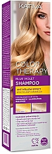 Voňavky, Parfémy, kozmetika Šampón na vlasy - Kativa Color Therapy Anti-Yellow Effect Shampoo