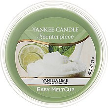 Voňavky, Parfémy, kozmetika Aromatický vosk - Yankee Candle Vanilla Lime Melt Cup