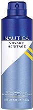 Voňavky, Parfémy, kozmetika Nautica Voyage Heritage - Deodorant v spreji