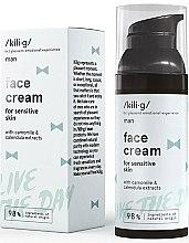 Voňavky, Parfémy, kozmetika Hydratačný krém na tvár - Kili·g Man Day Cream