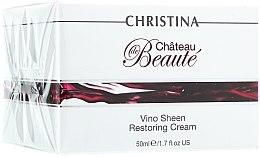 Voňavky, Parfémy, kozmetika Obnovujúci krém Nádhera na báze extraktu z hrozna - Christina Chateau de Beaute Vino Sheen Restoring Cream