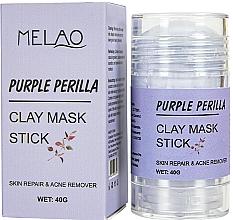 Voňavky, Parfémy, kozmetika Maska na tvár v tyčinke Purple Perilla - Melao Purple Perilla Clay Mask Stick