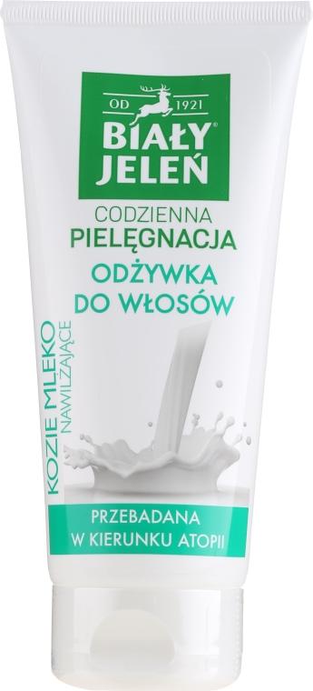 Hypoalergénny kondicionér s kozím mliekom - Bialy Jelen Hypoallergenic Conditioner Goat Milk — Obrázky N1